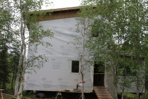 House wraps must stop bulk water from entering on the cold side and also be permeable enough to allow water vapor to pass through from the warm side.