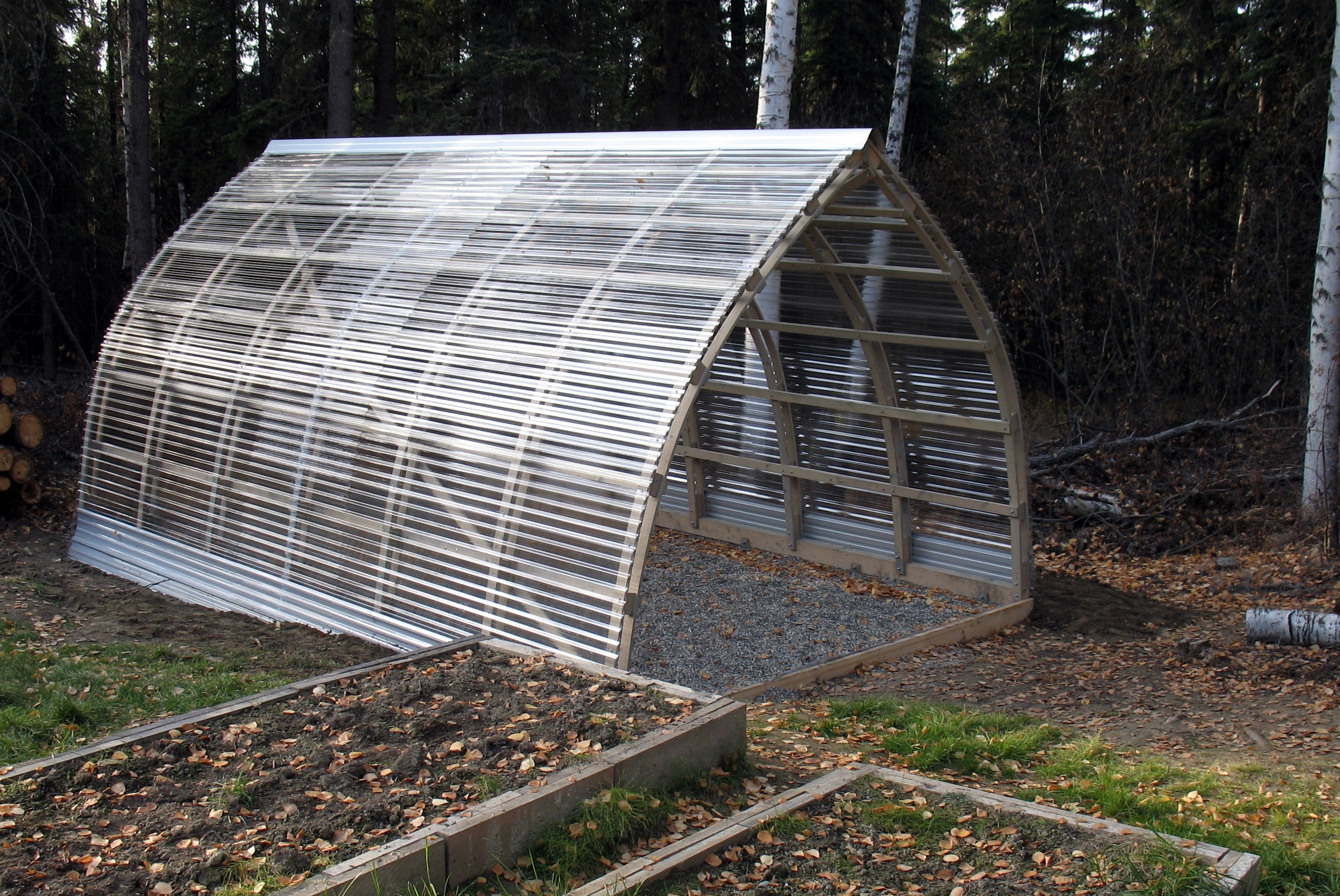 Greenhouse Design -Need feedback! (greenhouses forum at permies) on